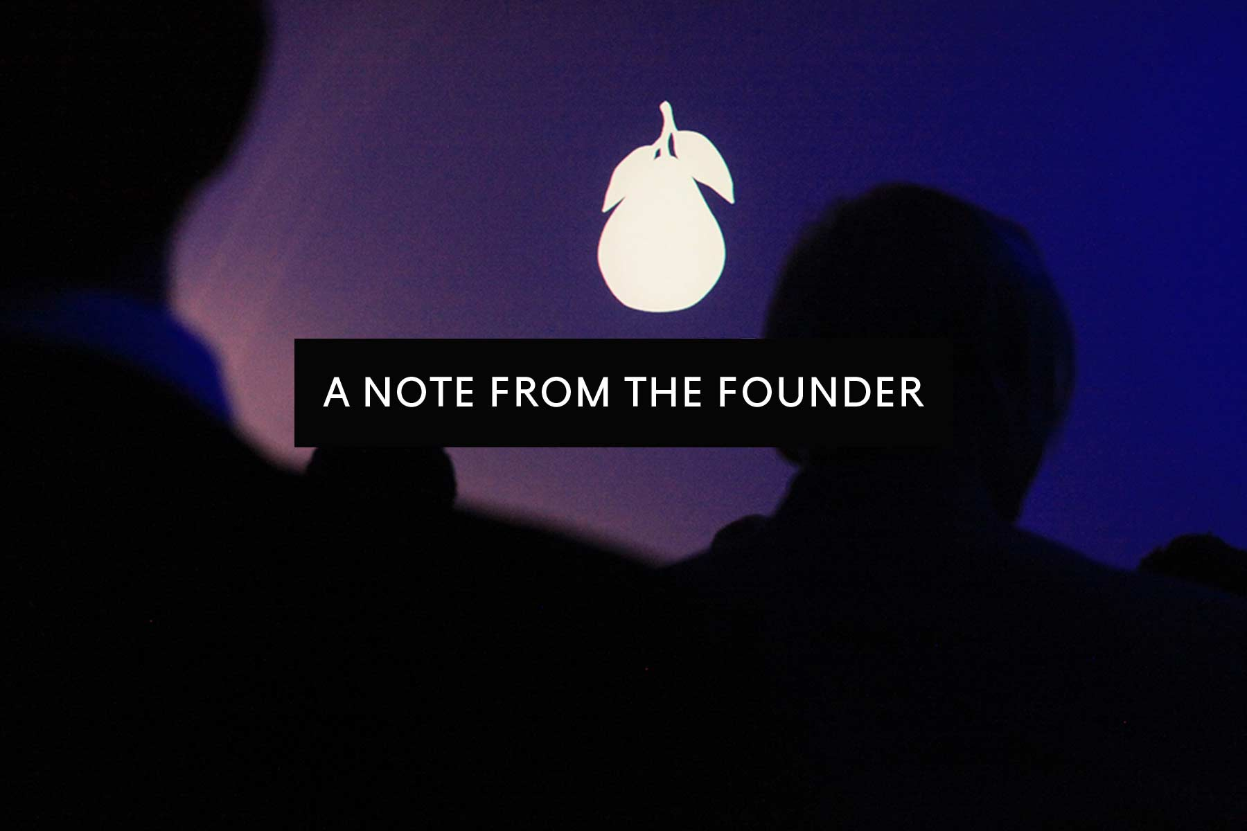 NOTEFROMFOUNDER